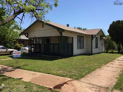 Wichita Falls Single Family Home For Sale: 2015 Fillmore Street