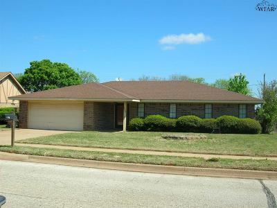 Wichita Falls Single Family Home For Sale: 2206 Hunters Glen