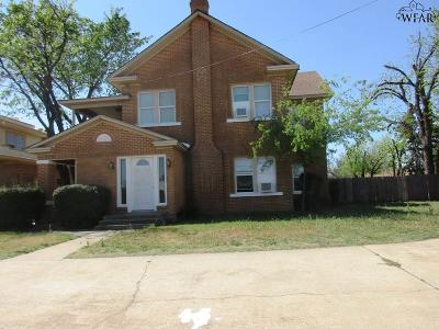 Single Family Home For Sale: 2331 Wilbarger Street
