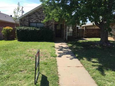 Wichita Falls Single Family Home For Sale: 3041 Cunningham Drive