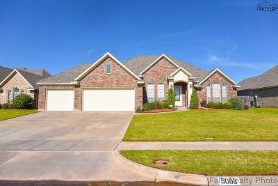 Wichita Falls Single Family Home For Sale: 5006 Legacy Drive