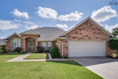 Wichita Falls Single Family Home For Sale: 10 Casa Grande Court