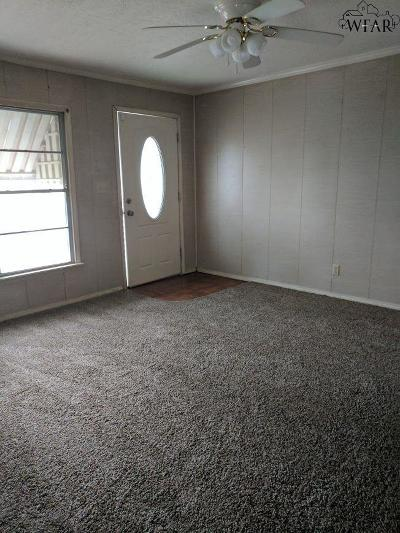 Wichita Falls TX Rental For Rent: $650