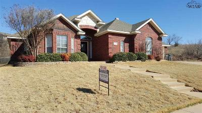 Wichita County Rental For Rent: 4220 Canyon Trails Drive