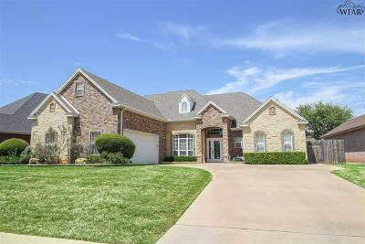 Single Family Home For Sale: 4508 Hollow Ridge Drive
