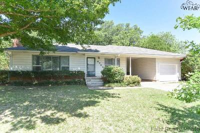 Single Family Home Active W/Option Contract: 4704 Alamo Drive