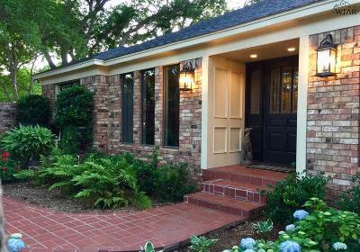 wichita falls Single Family Home Active-Contingency: 4404 Cedar Elm Lane