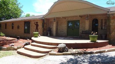 Single Family Home For Sale: 13452 S Hwy 281