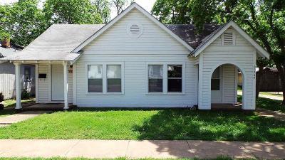 Wichita Falls Multi Family Home Active W/Option Contract: 2173 Avenue J