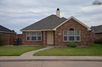 Wichita County Rental For Rent: 6003 Oakmont Drive