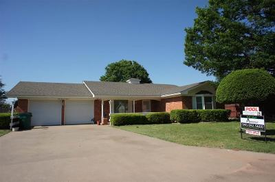 Burkburnett Single Family Home Active W/Option Contract: 1211 Danberry Street