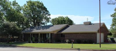 Clay County Single Family Home Active W/Option Contract: 301 Country Club Drive