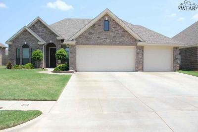 Wichita Falls TX Single Family Home Active W/Option Contract: $332,500