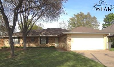 Wichita Falls TX Single Family Home Active-Contingency: $142,500