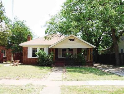 Wichita Falls TX Single Family Home For Sale: $92,000