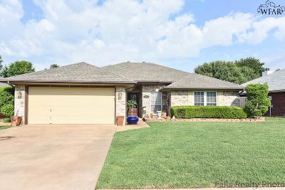 Wichita Falls TX Single Family Home Active W/Option Contract: $149,900
