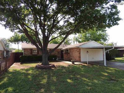Wichita Falls TX Single Family Home For Sale: $84,900