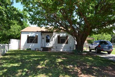 Wichita Falls TX Single Family Home Active W/Option Contract: $45,000