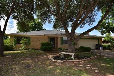 Wichita Falls TX Single Family Home For Sale: $158,000