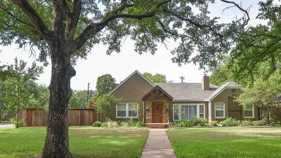 Wichita County Single Family Home For Sale: 2401 Dartmouth Street