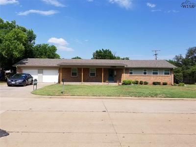 Iowa Park Single Family Home For Sale: 1503 Johnson Road