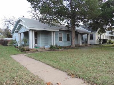 Wichita Falls TX Single Family Home Active W/Option Contract: $54,500