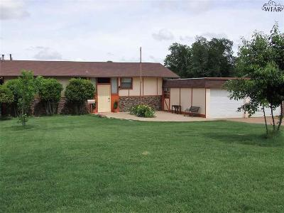Wichita Falls TX Single Family Home For Sale: $187,500