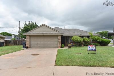 Wichita Falls TX Single Family Home Active W/Option Contract: $108,000