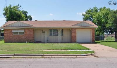 Wichita Falls TX Single Family Home For Sale: $79,500