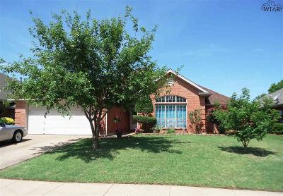 Wichita Falls TX Single Family Home Active W/Option Contract: $173,700