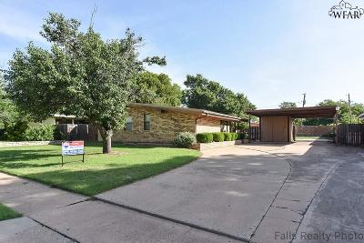 Wichita Falls TX Single Family Home For Sale: $111,500