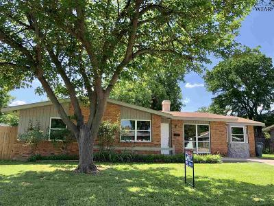 Wichita Falls TX Single Family Home For Sale: $119,900