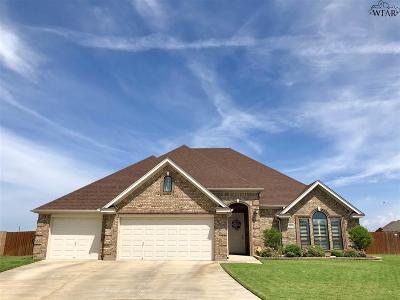 Wichita Falls TX Single Family Home For Sale: $315,500