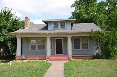 Wichita Falls TX Single Family Home For Sale: $80,000