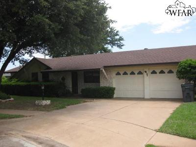 Wichita Falls TX Single Family Home For Sale: $109,900