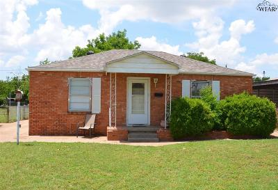 Wichita Falls TX Single Family Home For Sale: $67,000