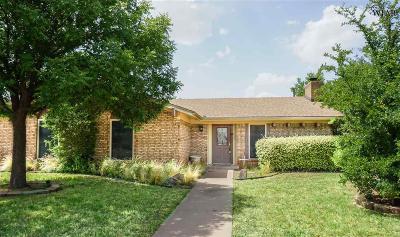 Wichita Falls Single Family Home For Sale: 5524 Briargrove Drive