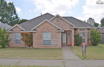 Wichita Falls Single Family Home For Sale: 5207 Hooper Drive