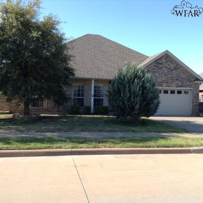 Wichita Falls Single Family Home For Sale: 1713 Rockridge Drive