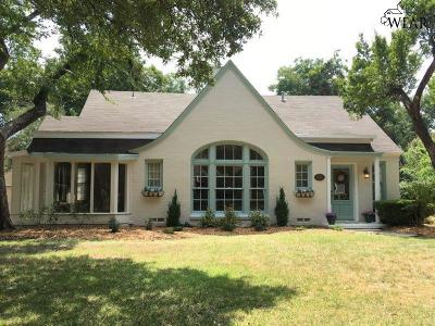 Wichita Falls Single Family Home For Sale: 2405 Dartmouth Street