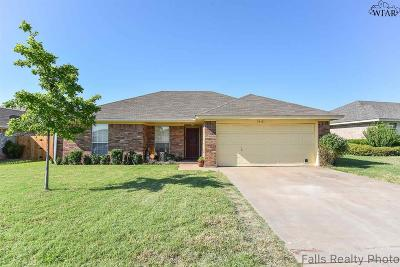 Wichita Falls TX Single Family Home Active-Contingency: $112,500