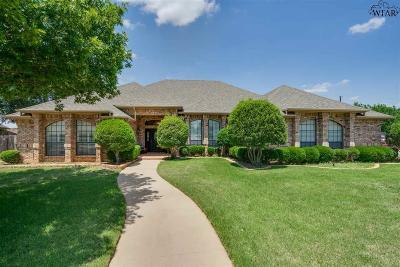 Wichita Falls Single Family Home For Sale: 6 Rob Roy Lane