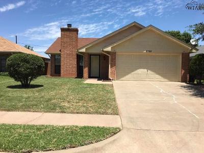 Wichita Falls Single Family Home For Sale: 6008 Laci Lane