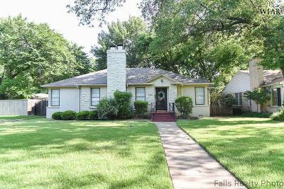 Wichita Falls Single Family Home For Sale: 2420 Clarinda Avenue