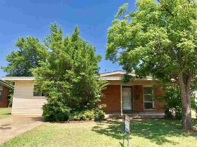 Wichita Falls Single Family Home For Sale: 4607 Stanford Avenue