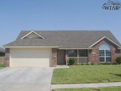 Wichita County Rental For Rent: 5031 Cy Young Drive