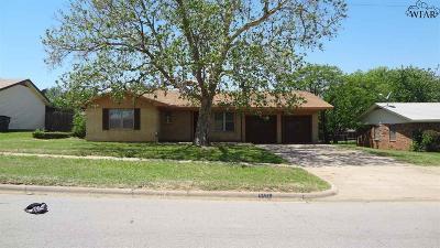 Wichita Falls Single Family Home For Sale: 5402 Hooper Drive