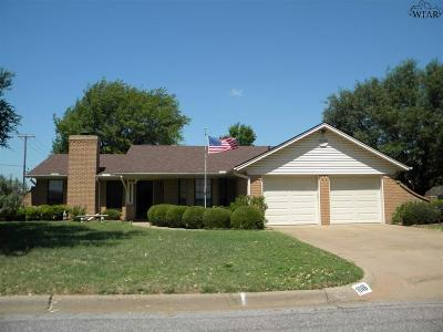 Burkburnett Single Family Home For Sale: 1016 Sugarbush Lane