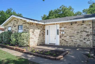 Wichita Falls Single Family Home For Sale: 1547 Malcolm Lane