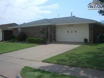 Wichita Falls Single Family Home For Sale: 5320 Pebblestone Drive